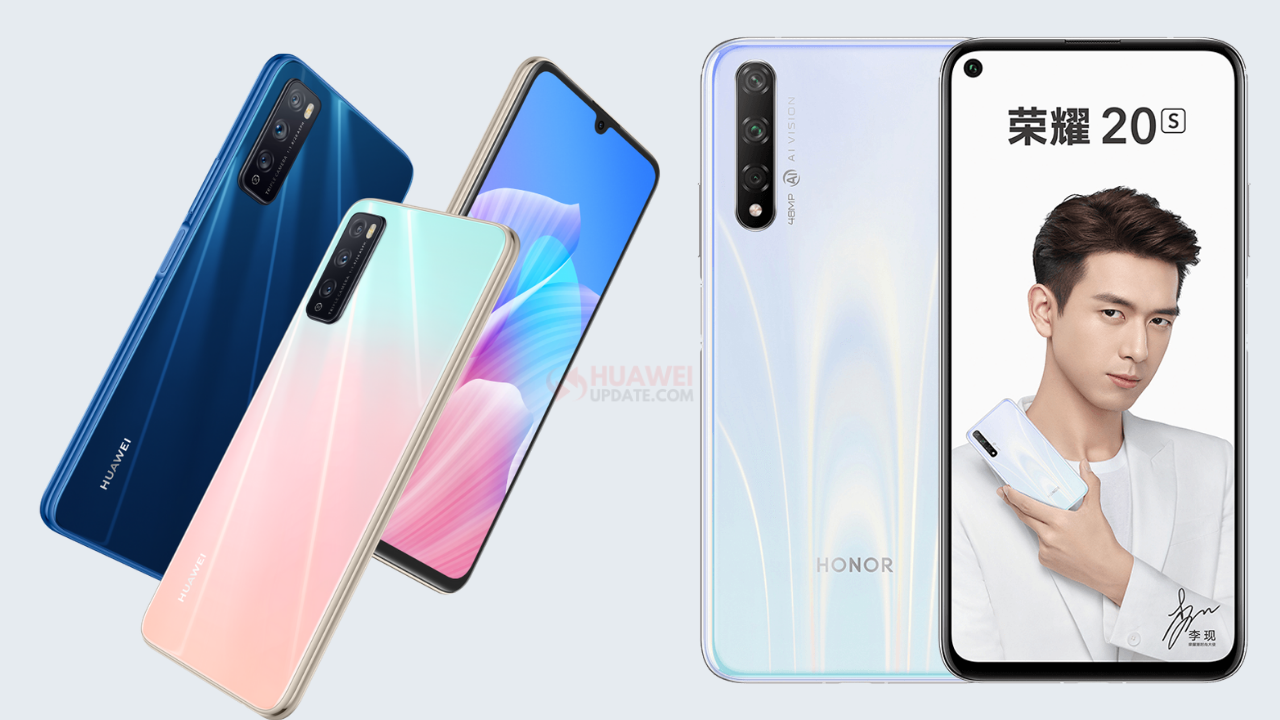 Huawei Enjoy Z 5G and Honor 20S