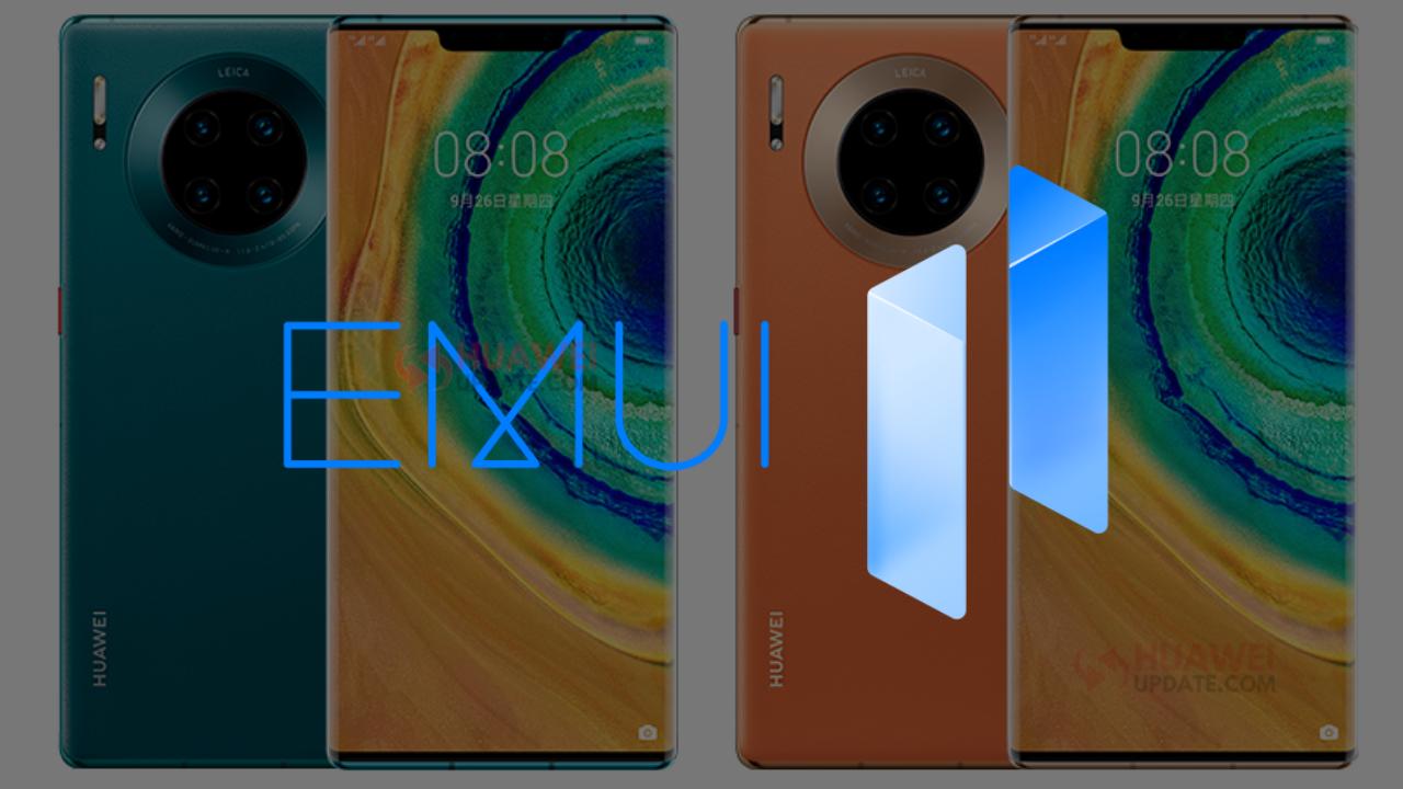 Huawei Mate 30 series - EMUI 11