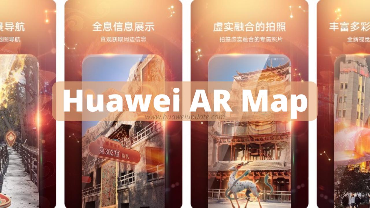 Huawei AR Map