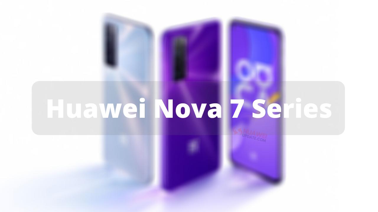Huawei Nova 7 Series EMUI Update