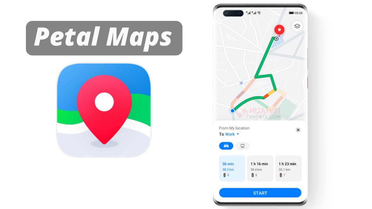 Huawei Petal Maps App