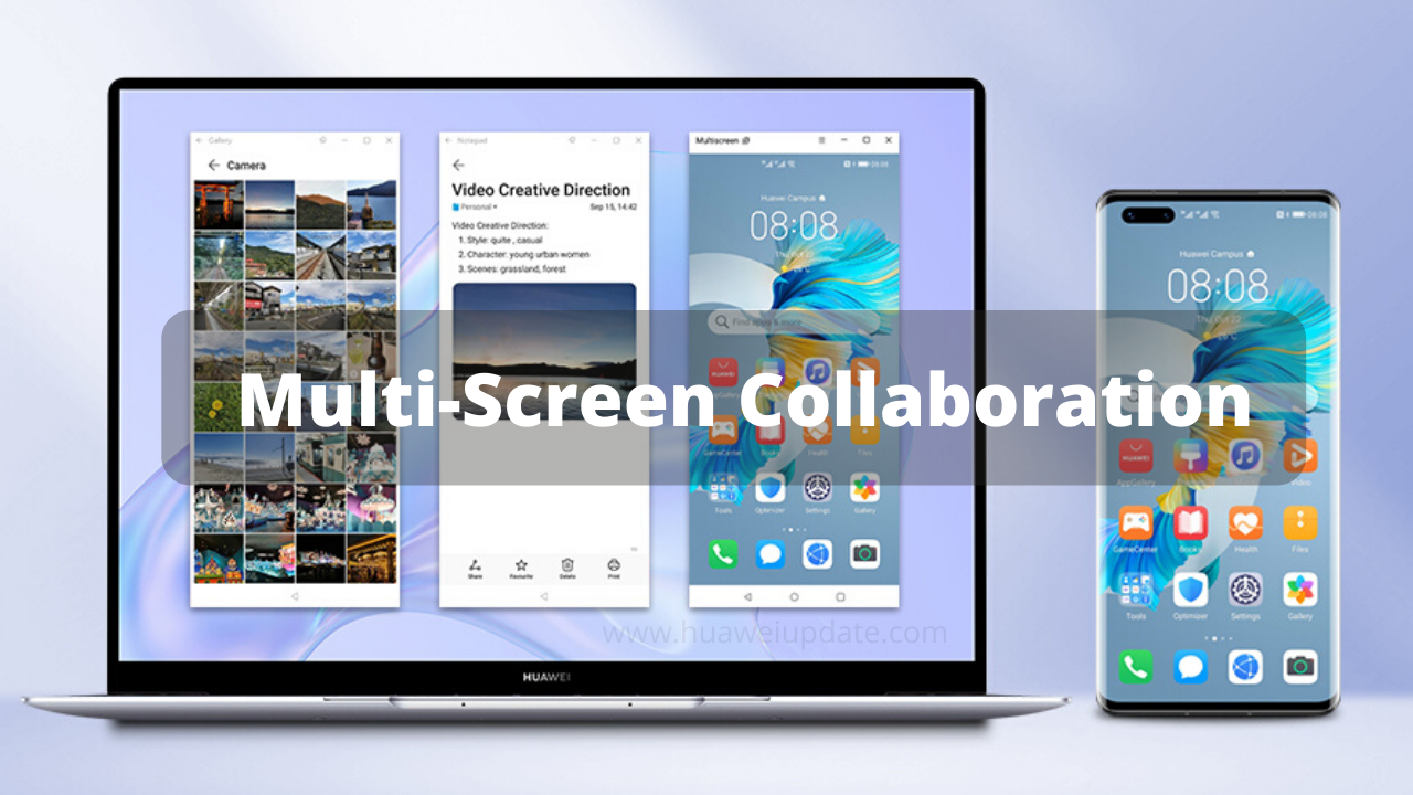 Multi-screen Collaboration