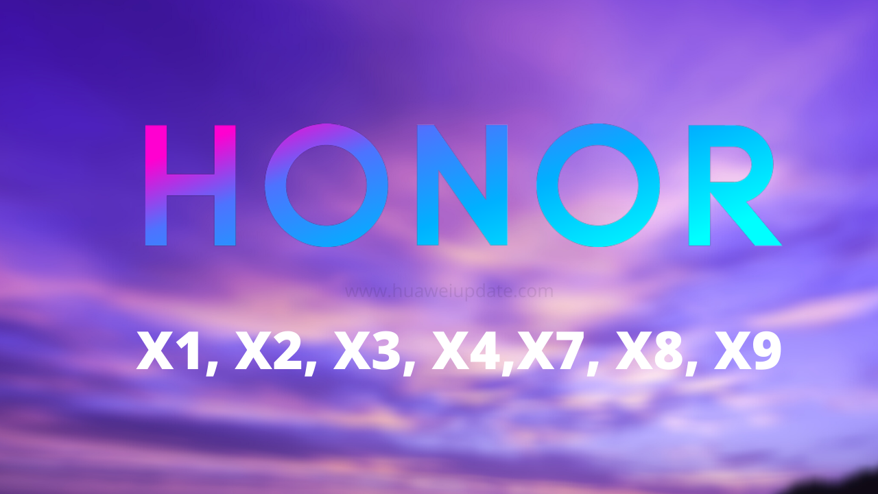 Honor X series patent