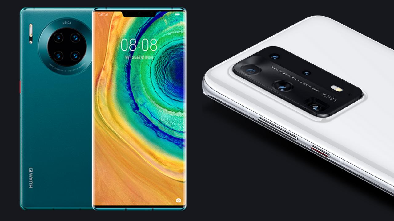 Huawei Mate 30 and P40 series