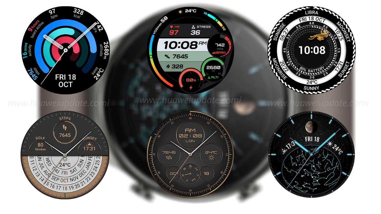 Huawei Watch GT 2 Pro Face