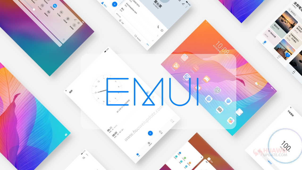 EMUI security updates eligible devices list
