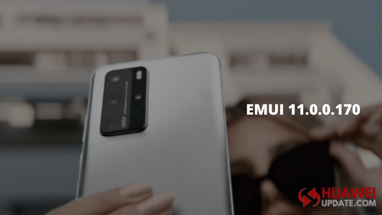 Huawei P40 series EMUI 11 Update