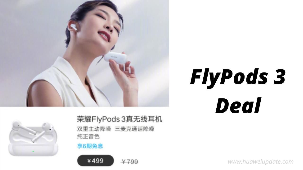 FlyPods 3 Deal