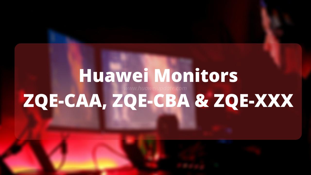 Huawei new monitors