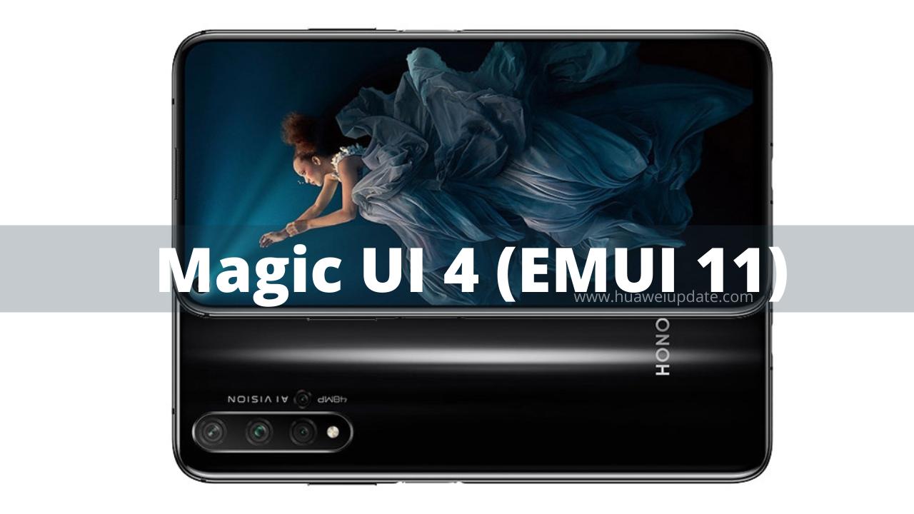 Magic UI 4 -Honor 20 India