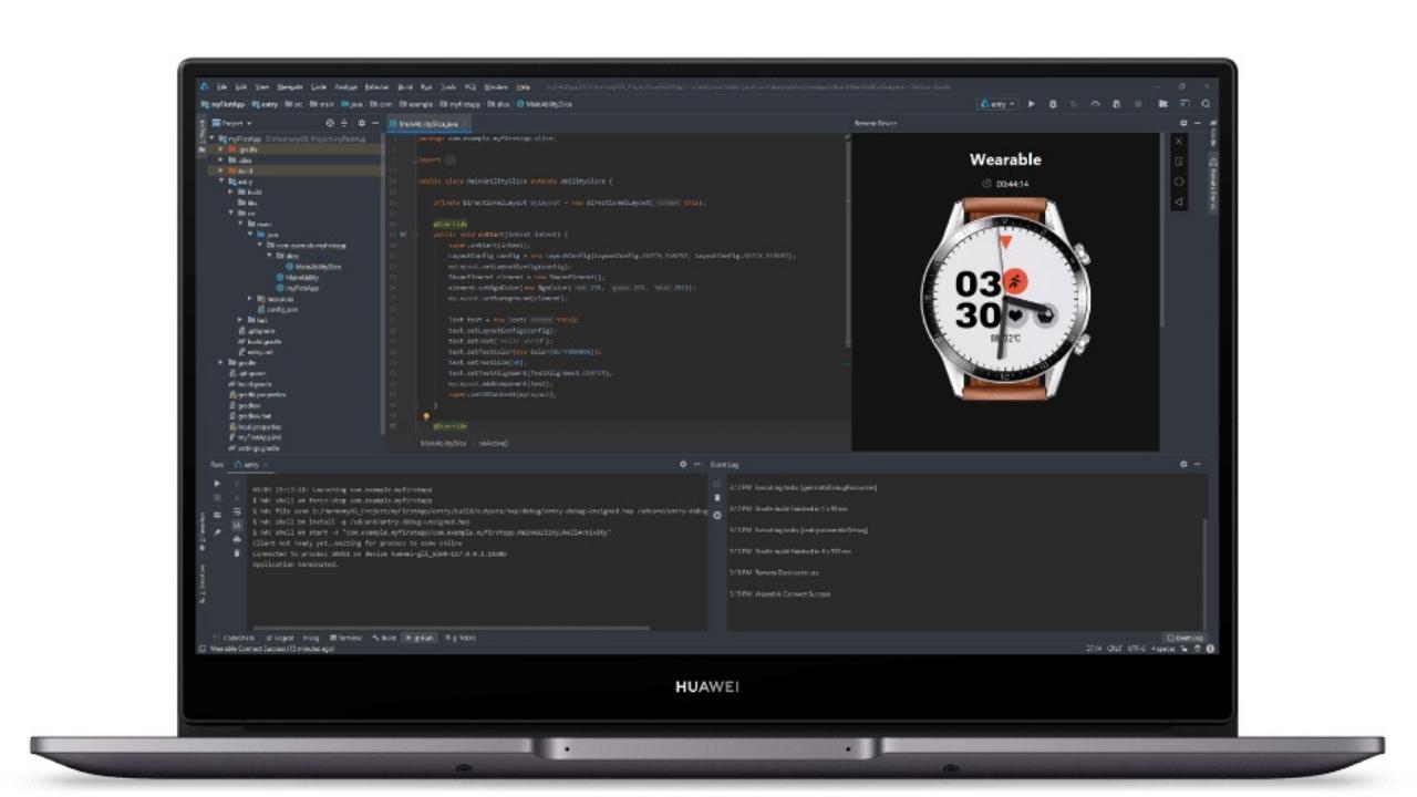 DevEco Studio 2.1 Beta 3