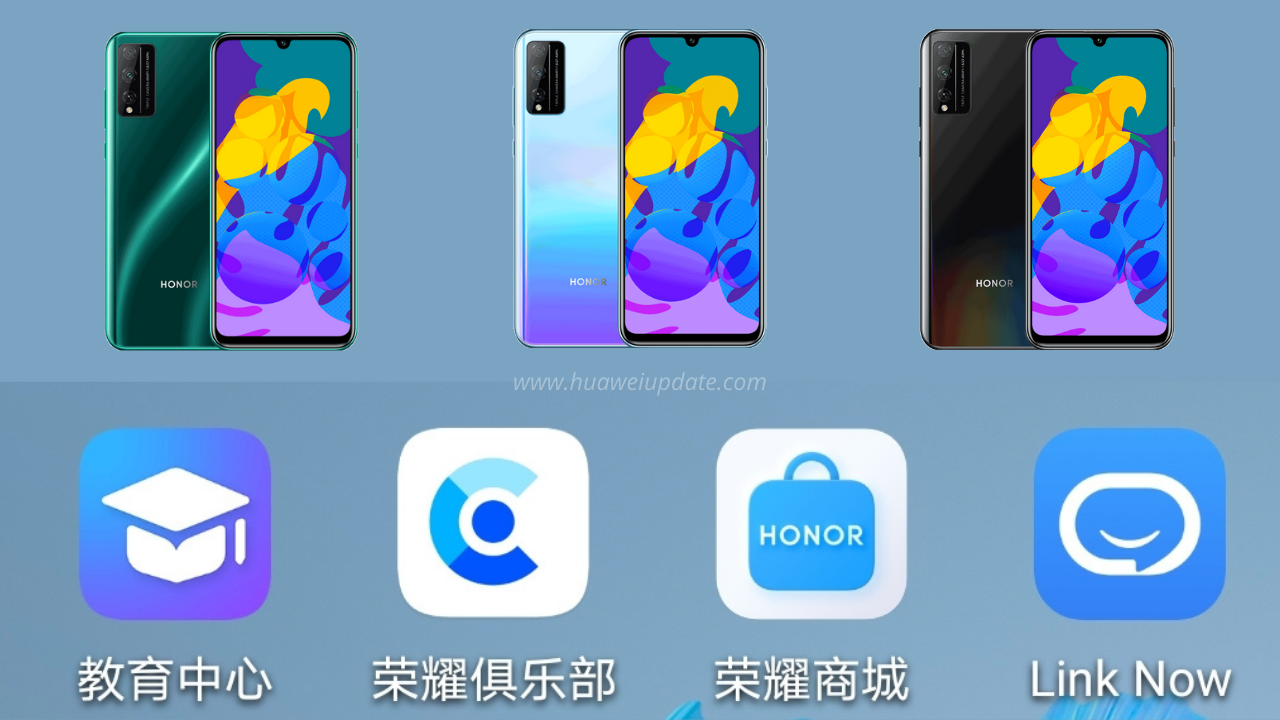 Honor Play 4T Pro Update April 2021