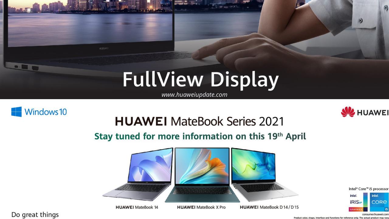 Huawei MateBook Series 2021
