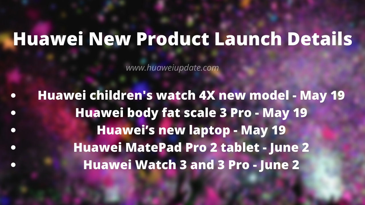 Huawei New Product