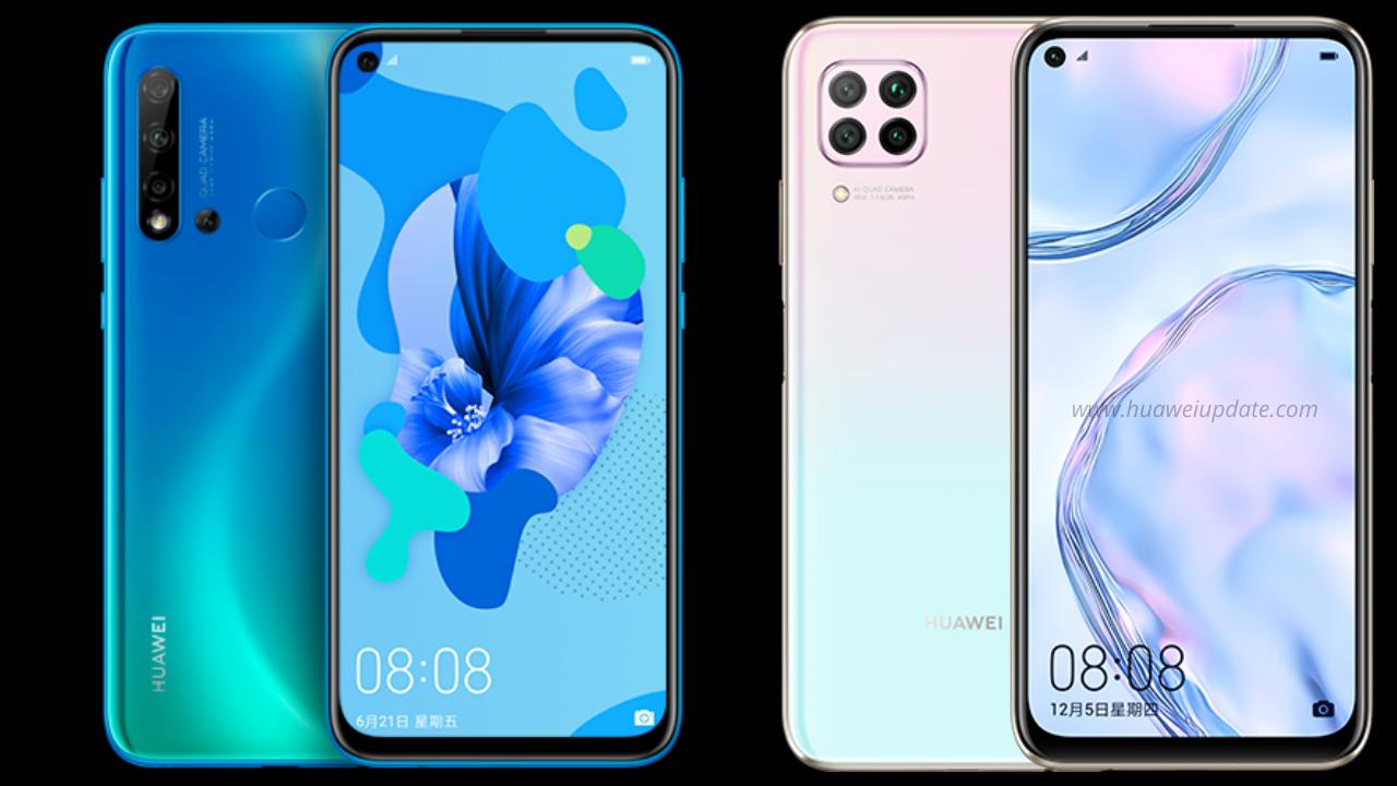 Huawei Nova 5i and Nova 6 SE