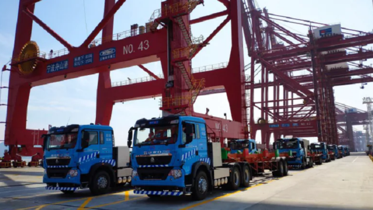 Huawei and China Mobile Help Ningbo-Zhoushan Port News 2