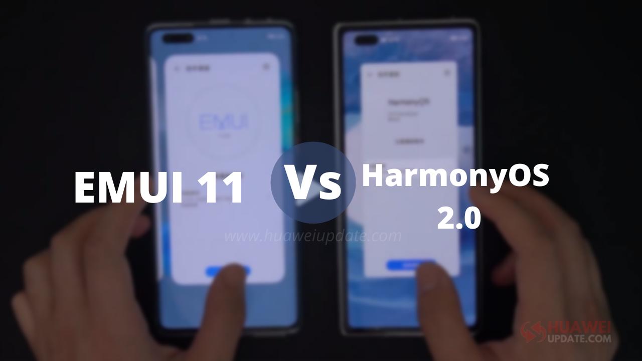 HarmonyOS 2.0 vs EMUI 11