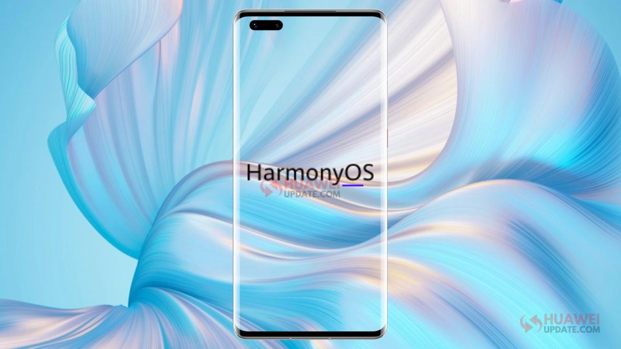 HarmonyOS Huawei Update