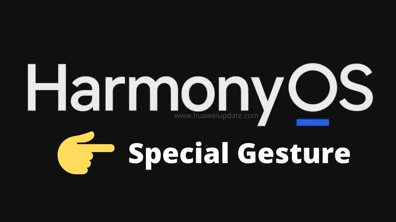 HarmonyOS Special Gesture