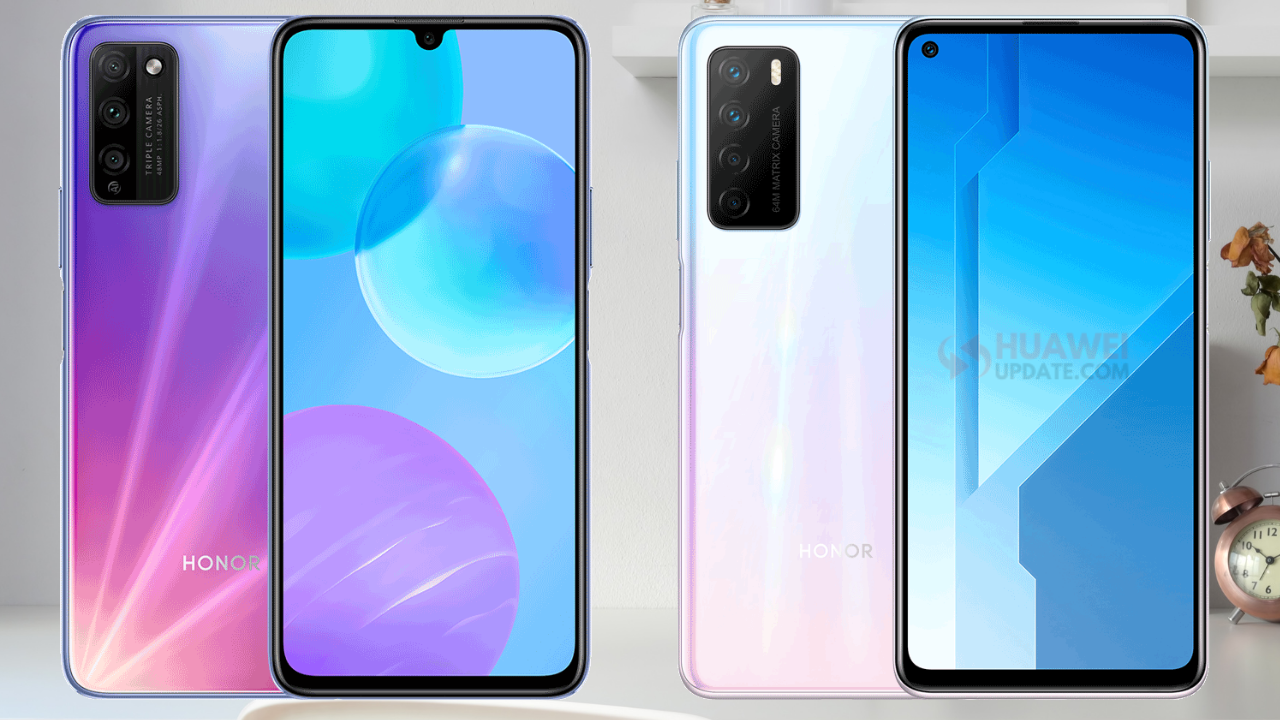 Honor 30 Youth Edition and Play 4