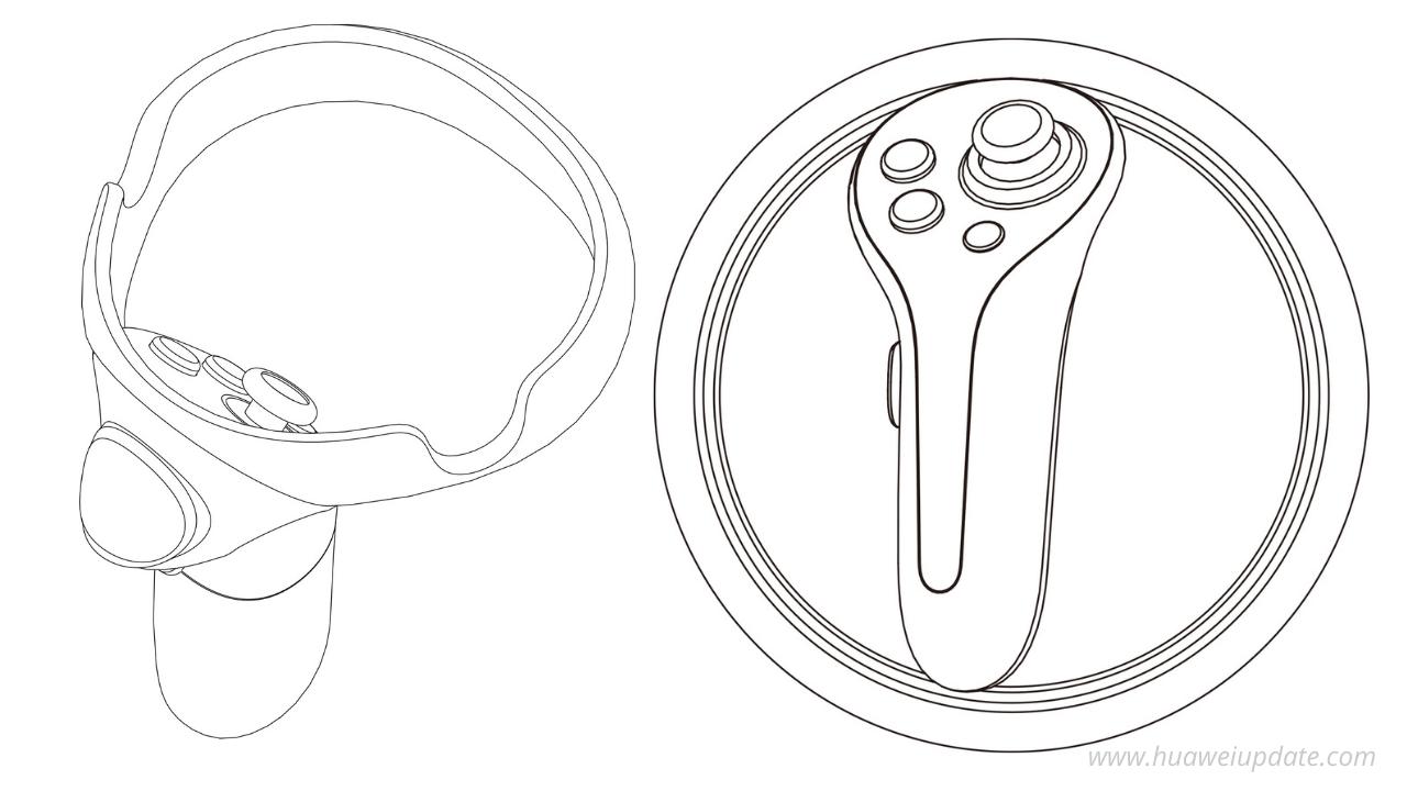 Huawei Gamepad patent