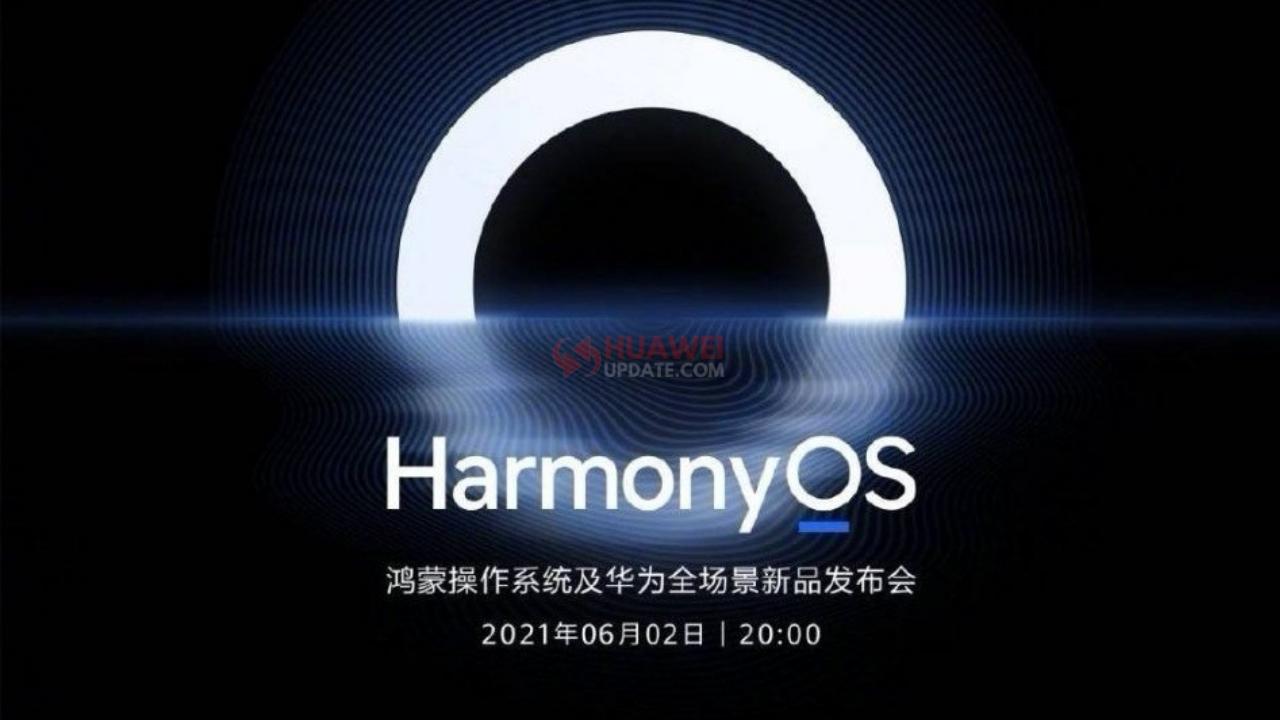Huawei HarmonyOS June 2, 2021 Event