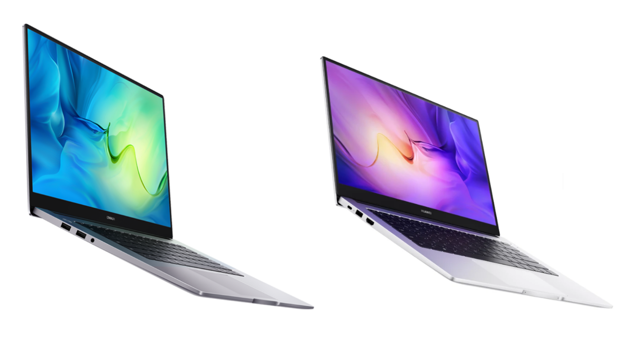 Huawei MateBook D 14 and 15 Ryzen Edition