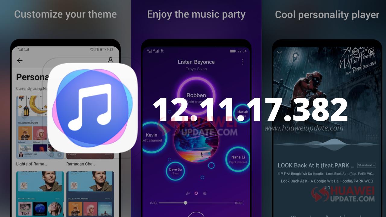 Huawei Music 12.11.17.382