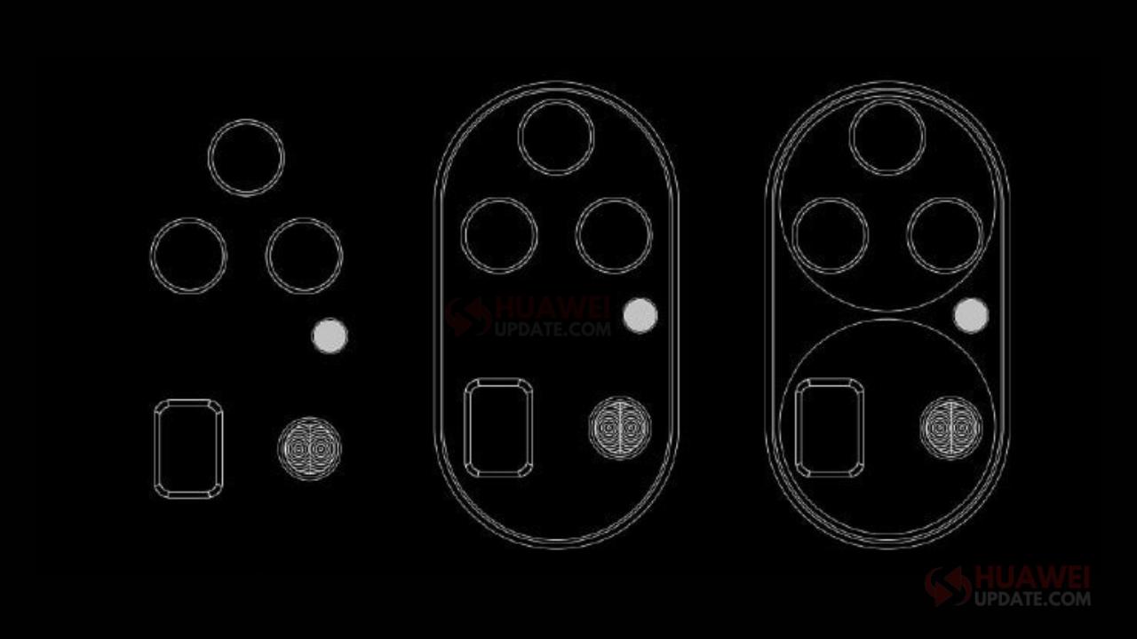 Huawei P50 Series rear camera final design