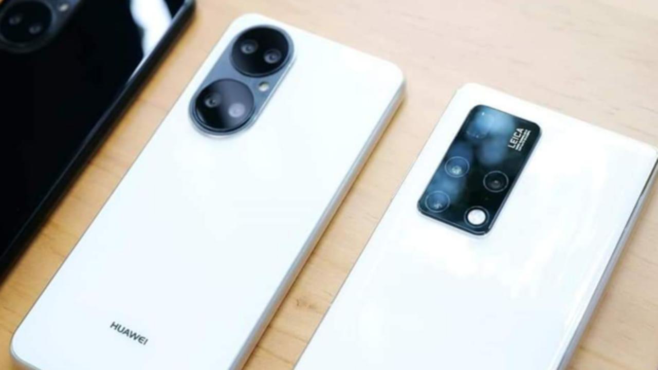 Huawei P50 White-3