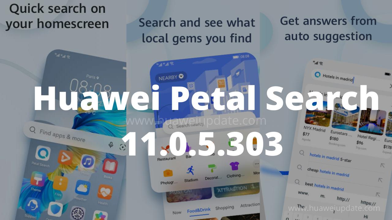 Huawei Petal Search 11.0.5.303