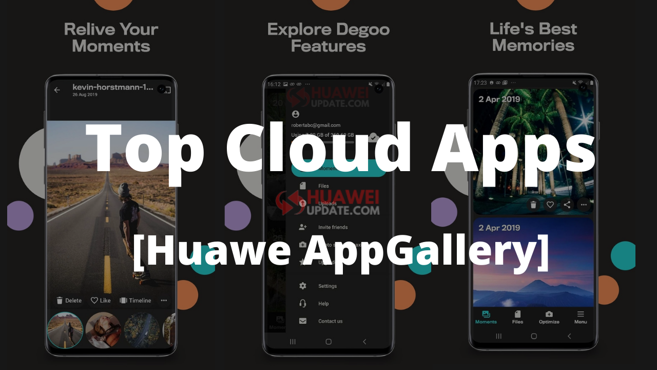 Top Cloud Apps - Huawei AppGallery