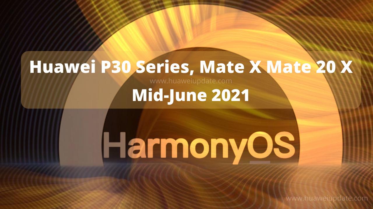 HarmonyOS 2 P30 Series Beta