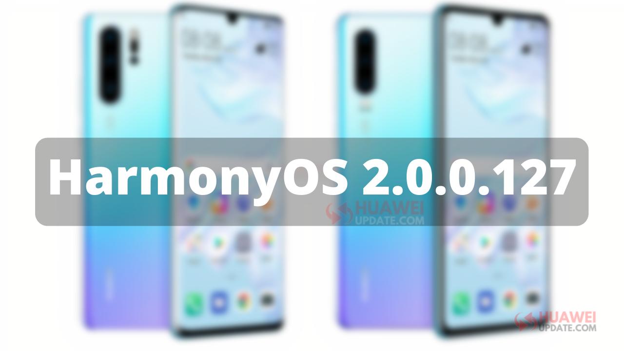HarmonyOS 2.0.0.127 P30
