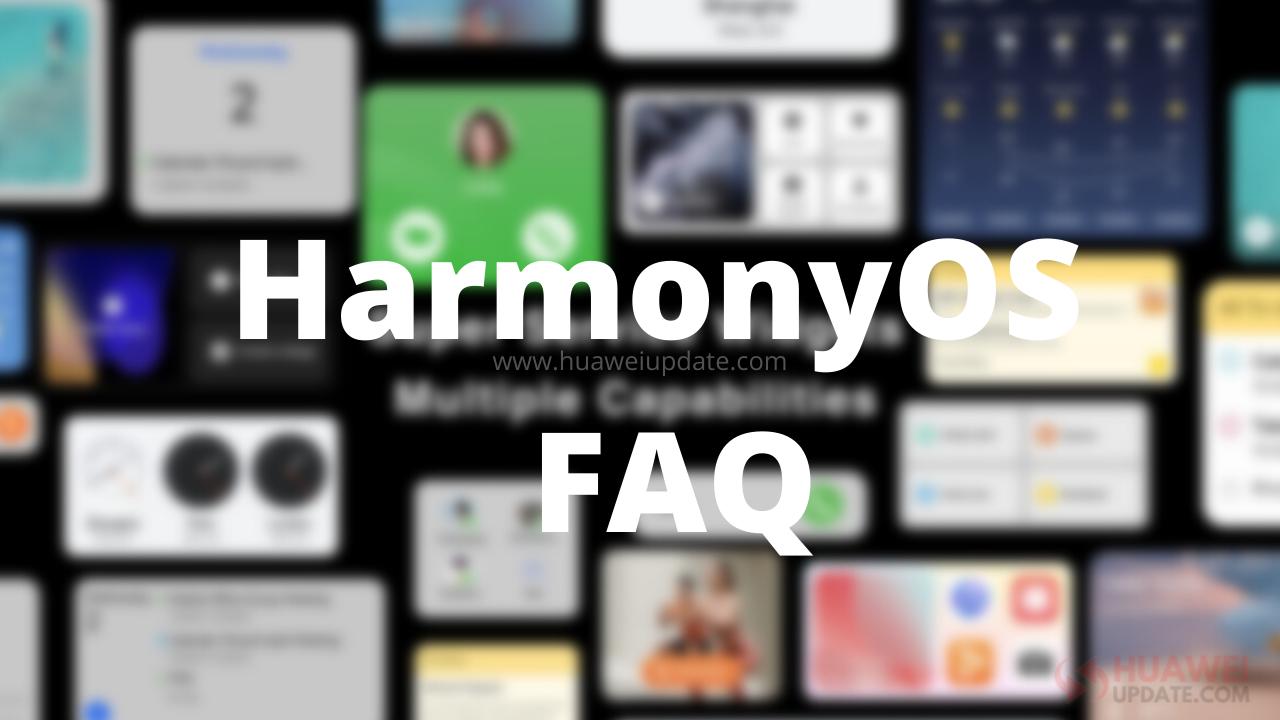 HarmonyOS FAQ