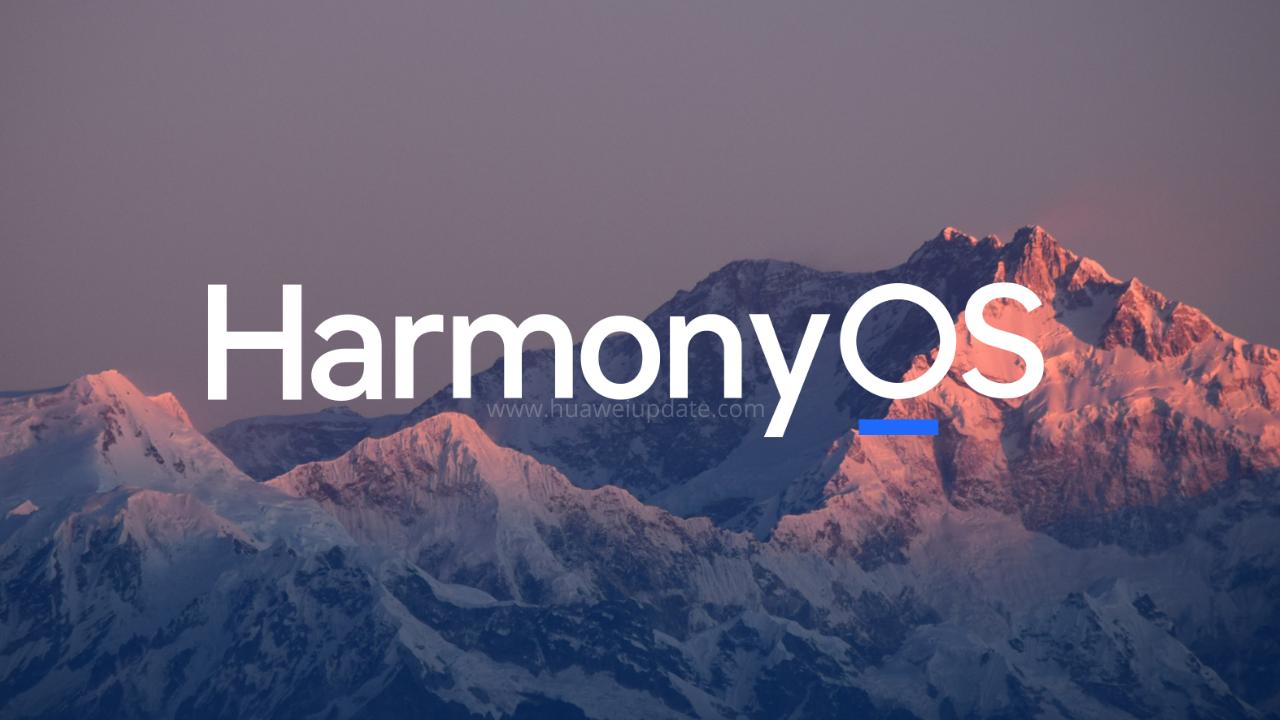 HarmonyOS Huawei -HU