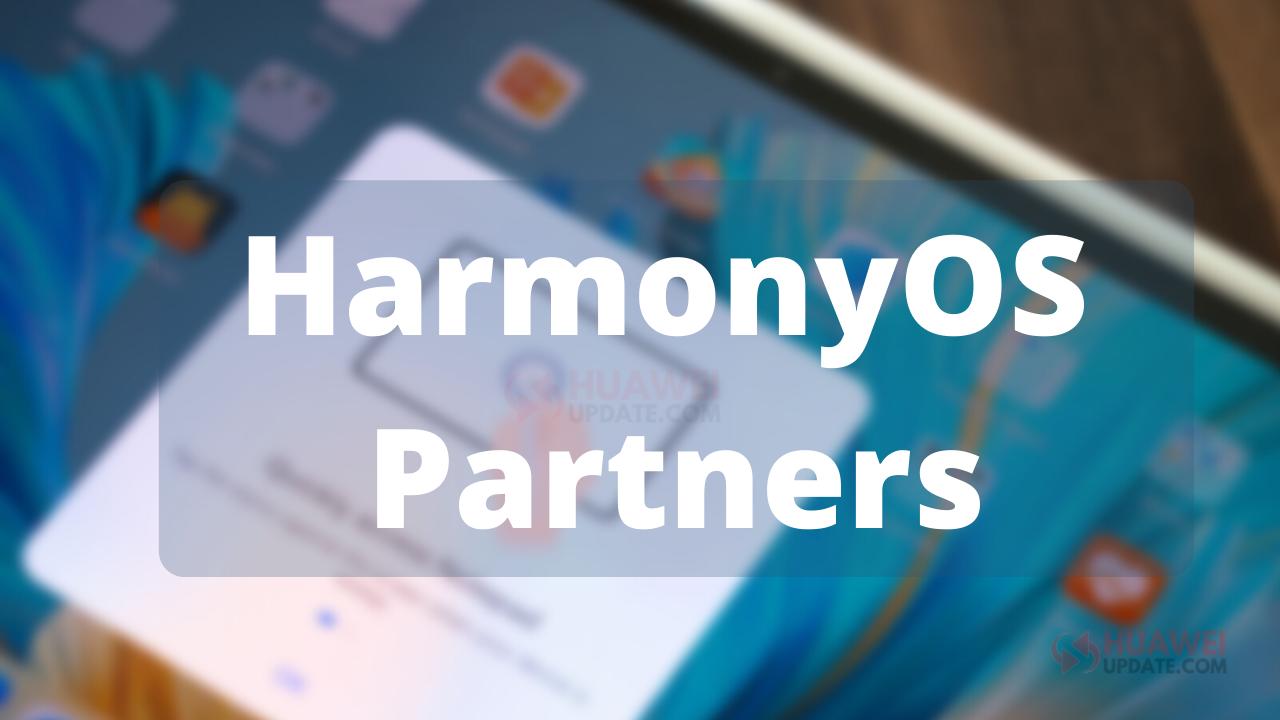 HarmonyOS Partners