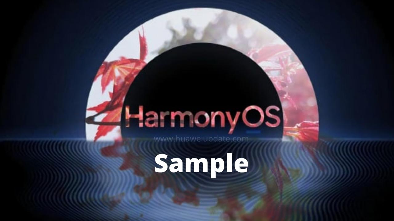 HarmonyOS Sample List
