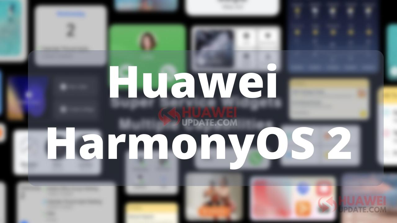 Huawei HarmonyOS 2 feature