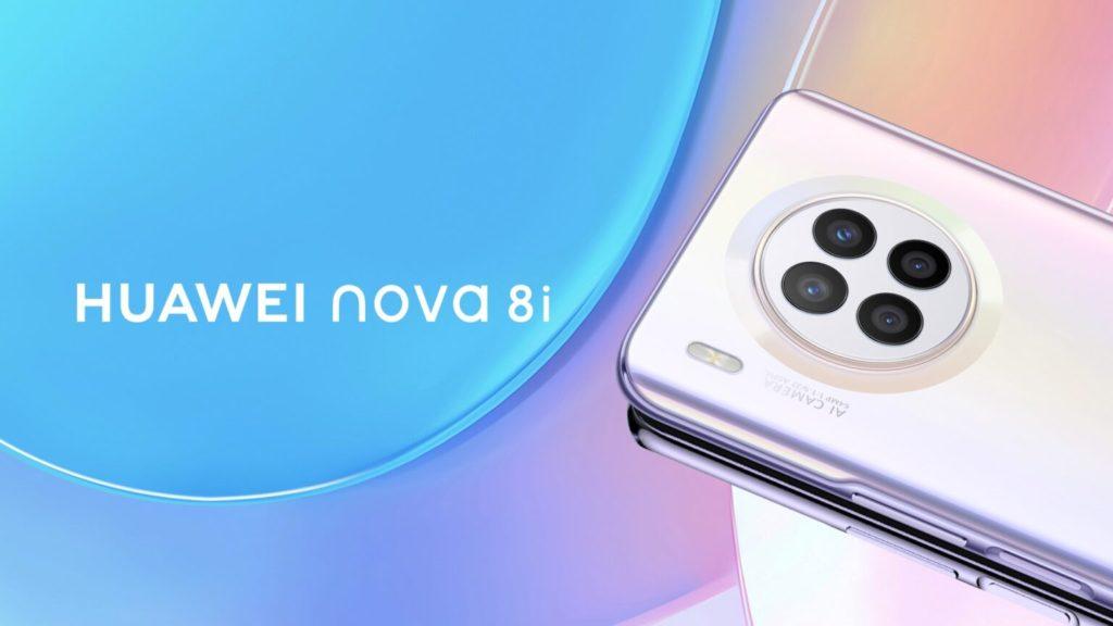 Huawei Nova 8i render