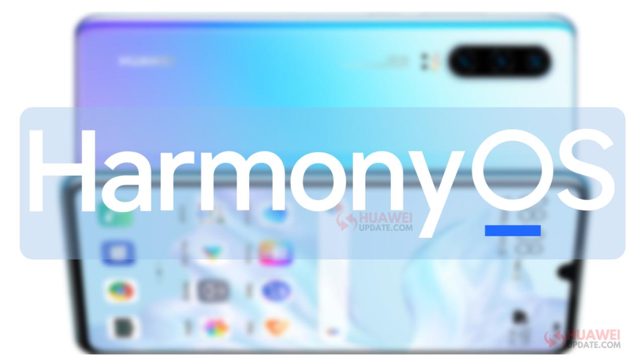 Huawei P30 HarmonyOS Update