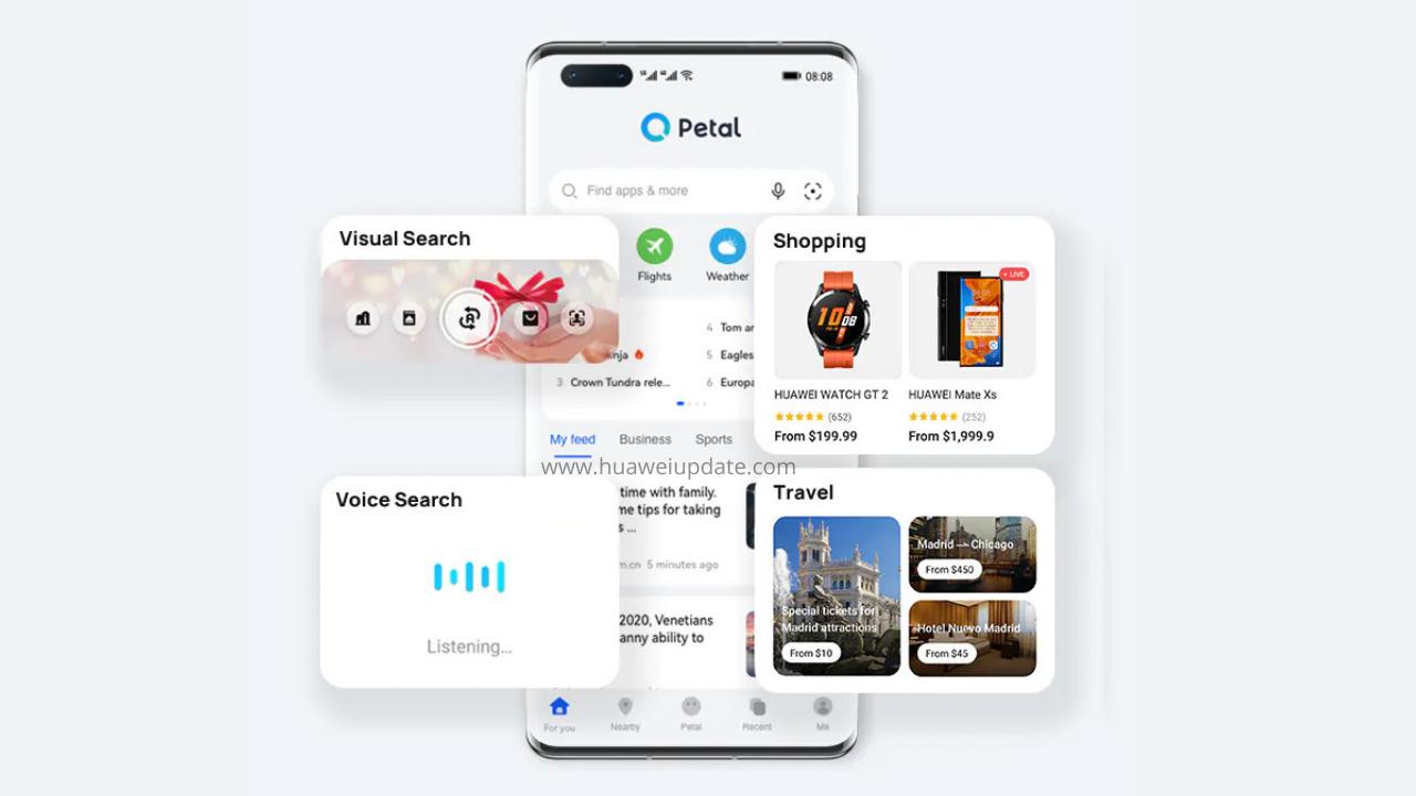 Huawei Petal Search Tips