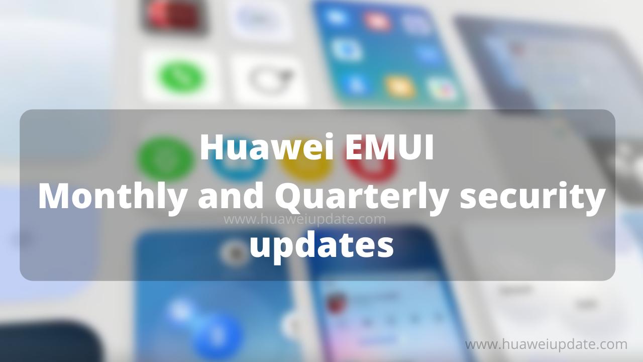 Security updates EMUI-HU