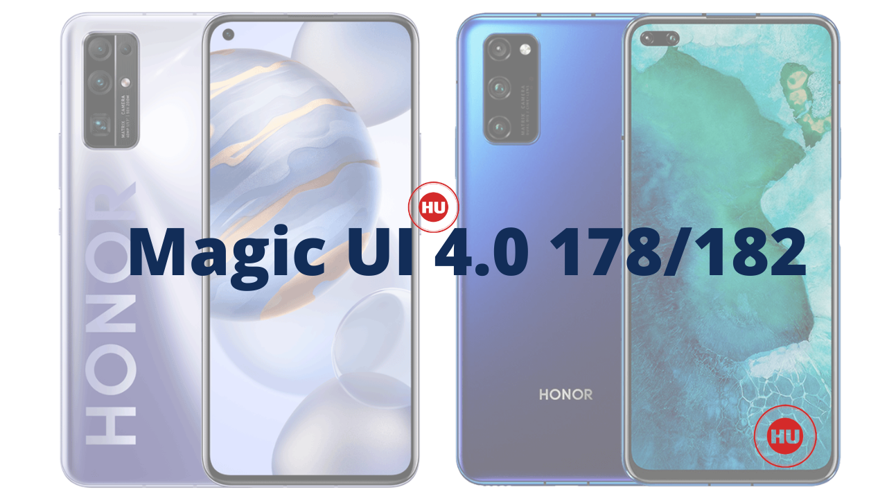 Honor 30 and V30 series update May 2021 patch