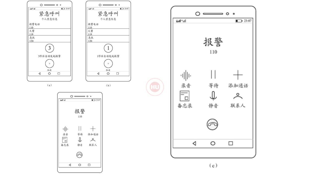 Huawei New patent