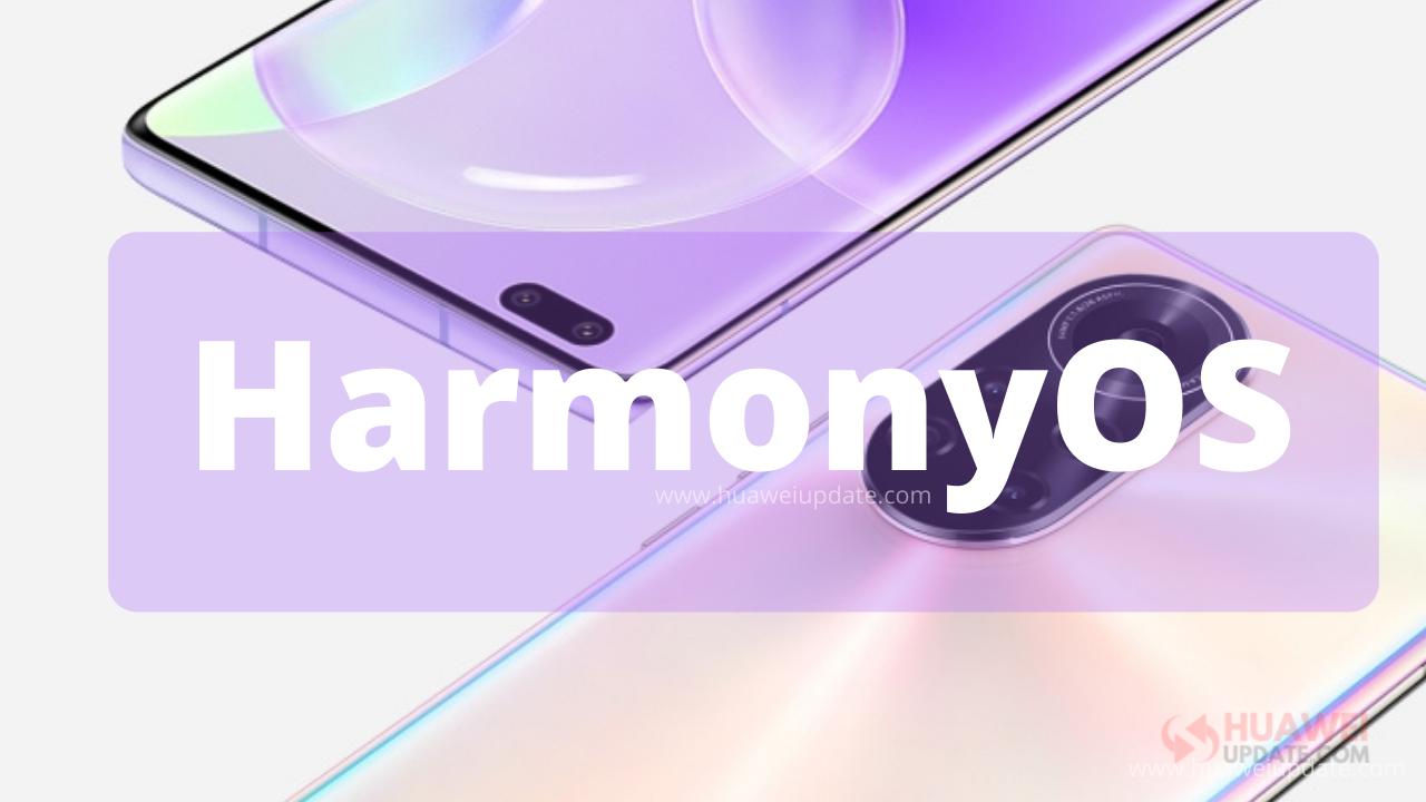 Nova 8 Series HarmonyOS Update