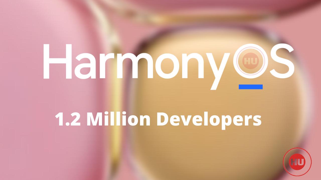 HarmonyOS 1.2 million developers