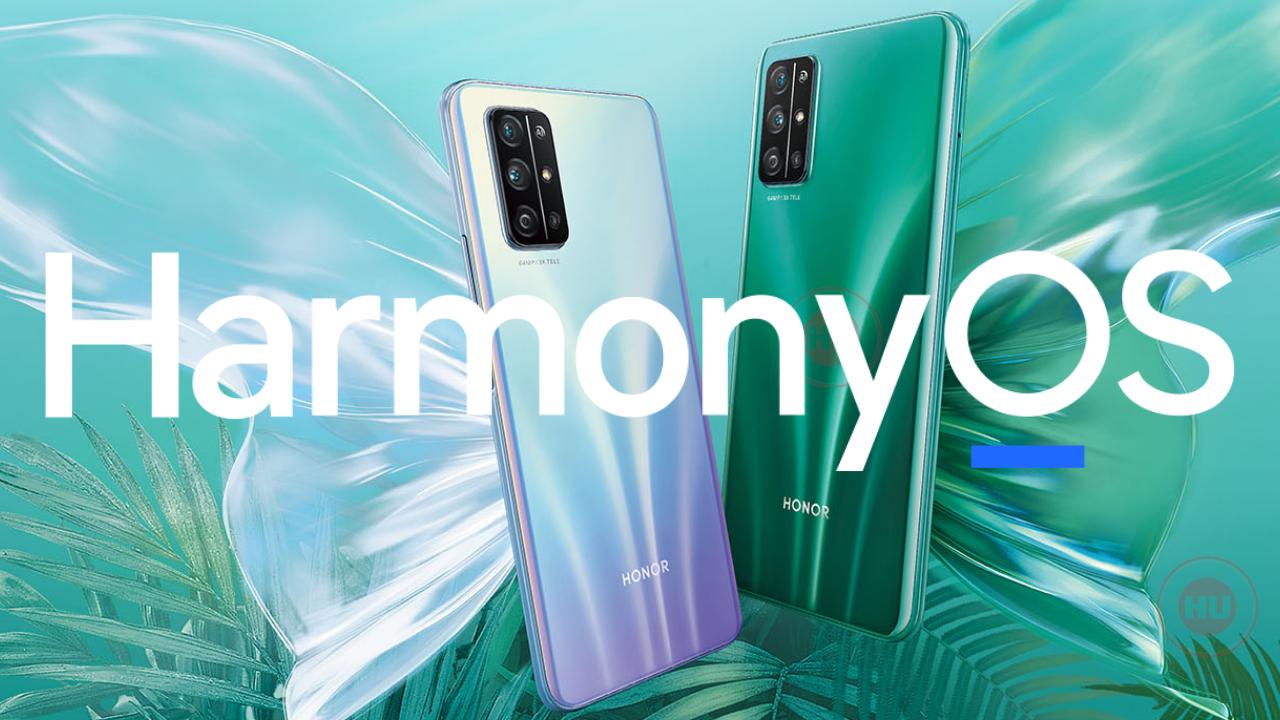 Honor 30S HarmonyOS Update