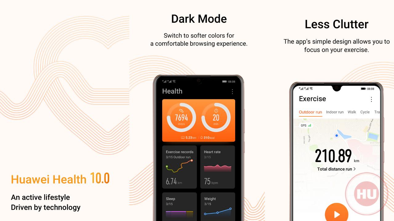 Huawei Health App 2021 year update