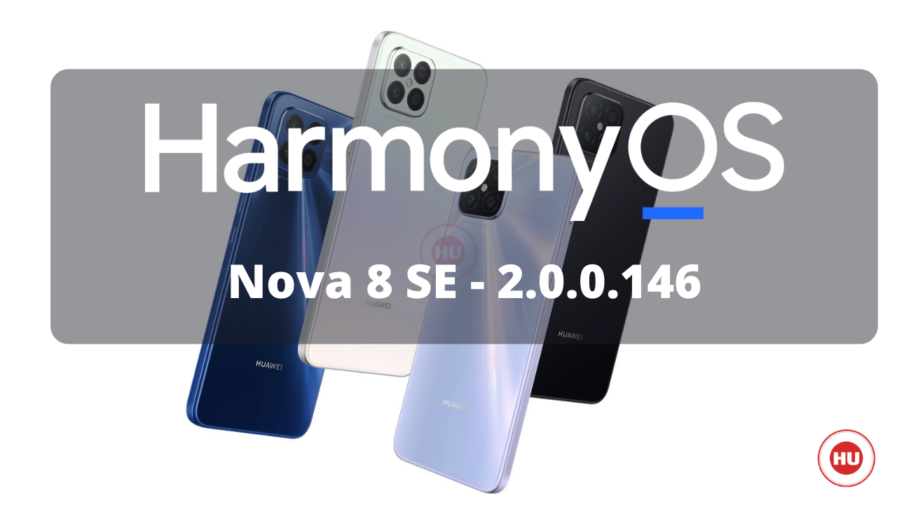 Huawei Nova 8 SE HarmonyOS 2.0.0.146